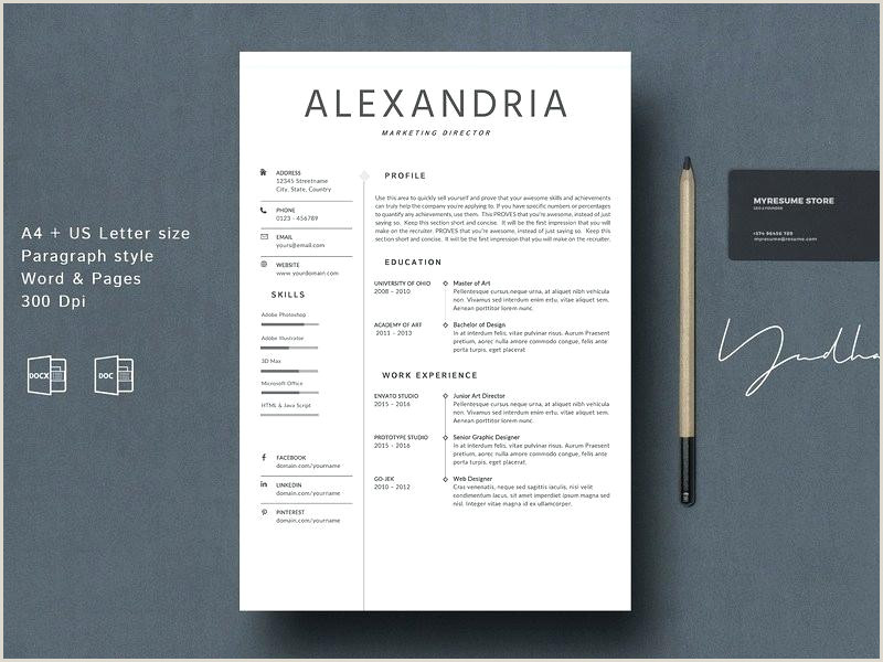 Modern Cv format Word Free Download Modern Resume Template