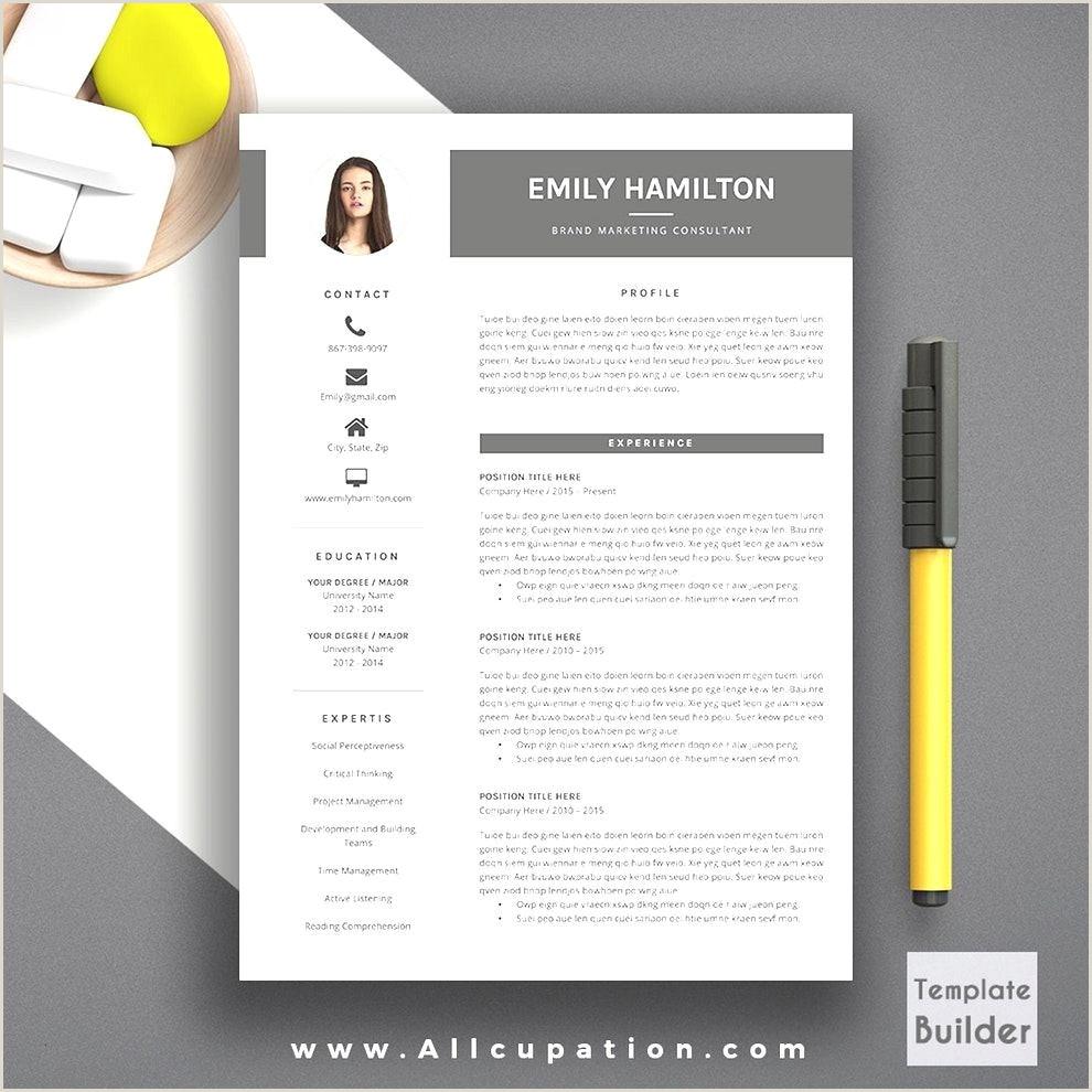 Simple Modern Resume Template