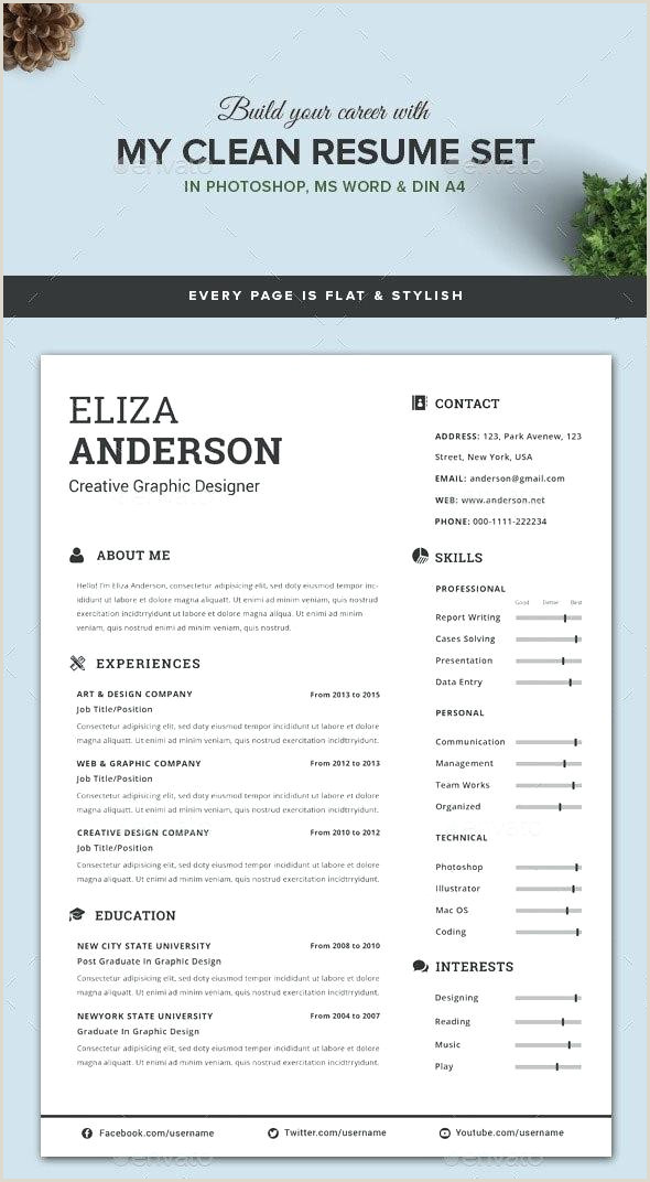 Personalize A Modern Resume Template In Ms Word Cv Microsoft