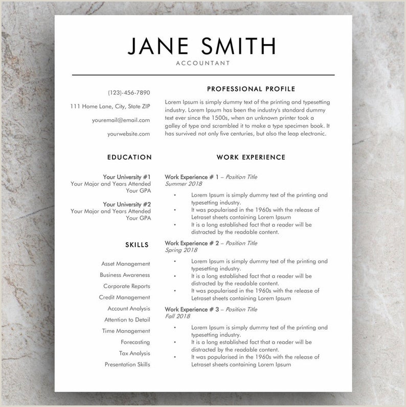 Modern Cv formats In Sri Lanka Word Resume Template and Modern Cv Template Simple Cover Letter Templates