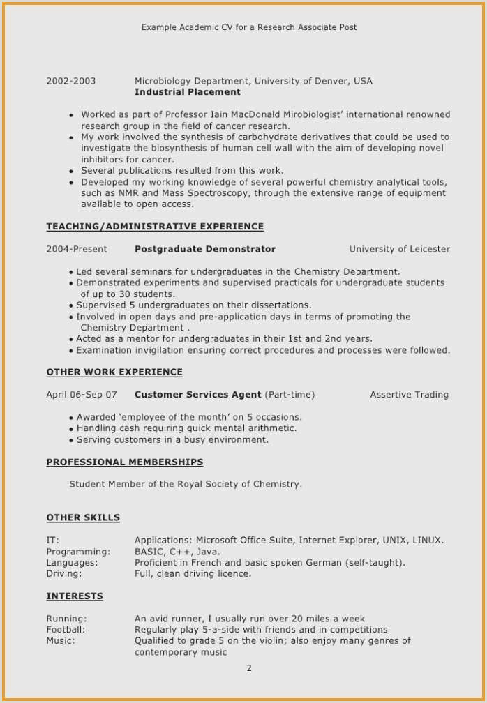 Cv Pdf Exemple 20 New Resume Graphic Design Iulitte