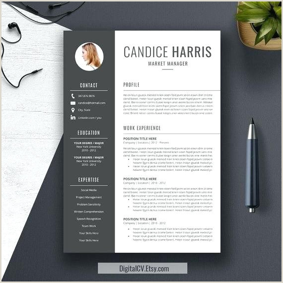 Modern Cv Sample Word Doc Modern Resume Design Best Creative Templates Personal