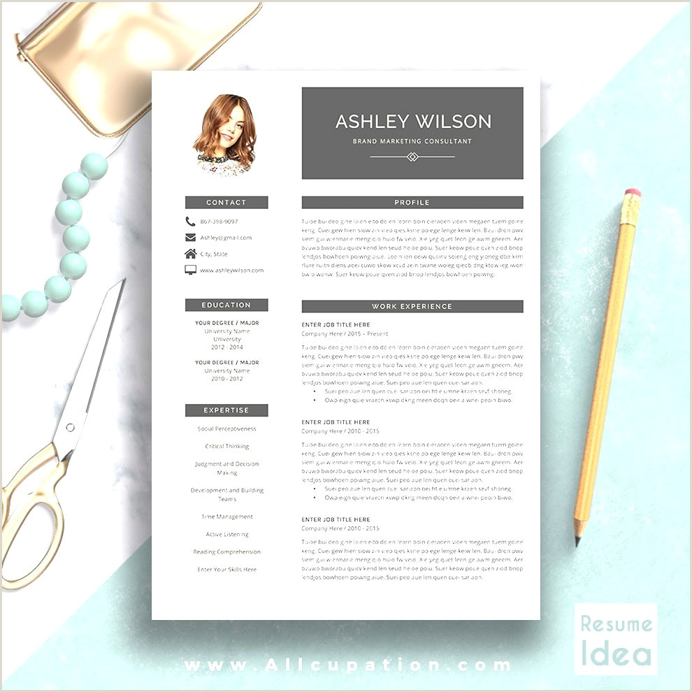 Modern Resume Template Word Free Download • Blackbackpub