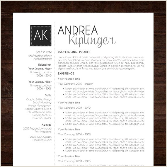Template Cv Word Gratuit Collections De ¢Ëœ 50 Ms Word Resume