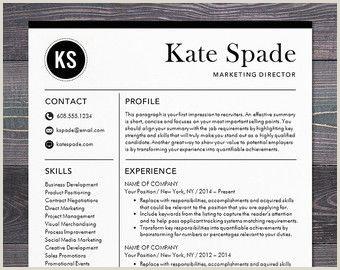 Professional Resume Template CV Template