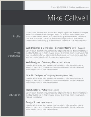Modern Day Cv format 150 Free Resume Templates for Word [downloadable] Freesumes