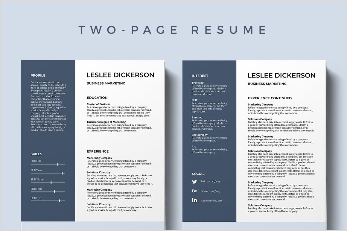 Modern It Cv format 75 Best Free Resume Templates Of 2019