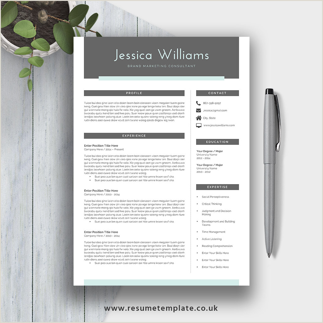 Modern Style Cv format Modern Cv Template for 2019 Simple Resume Fully Editable Ms Word Resume 2 Page Resume Cover Letter and References for Digital Instant Download