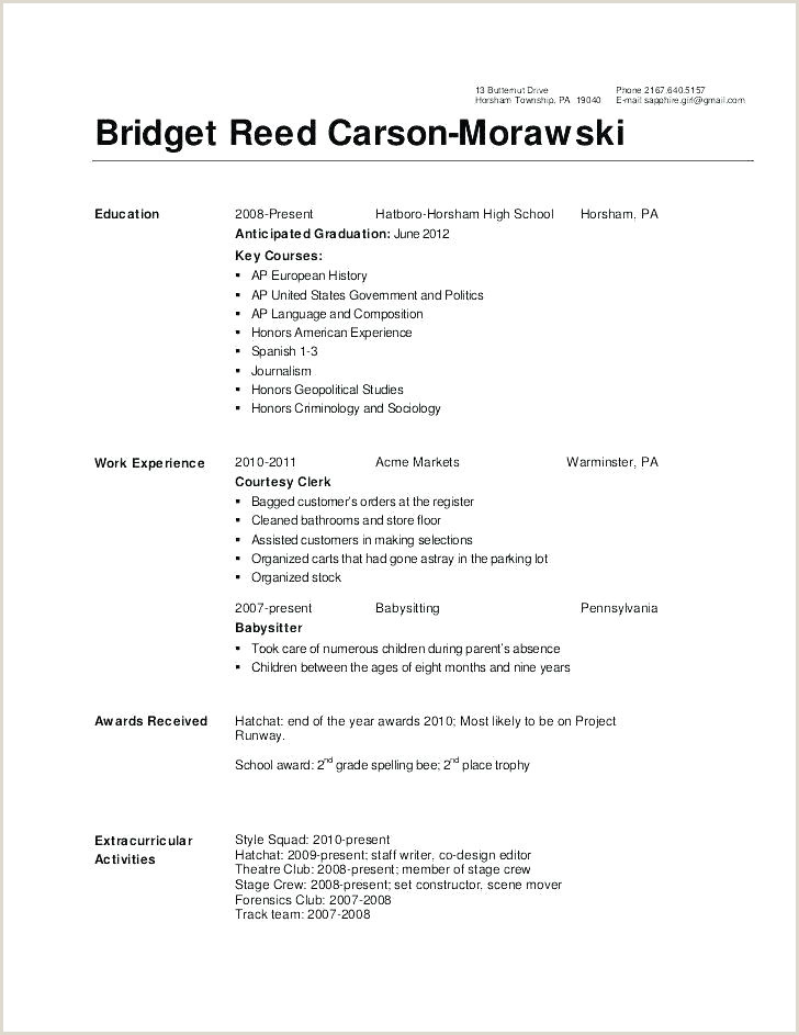 Molecular Biology Resume Scientific Resume Template Download for College Students