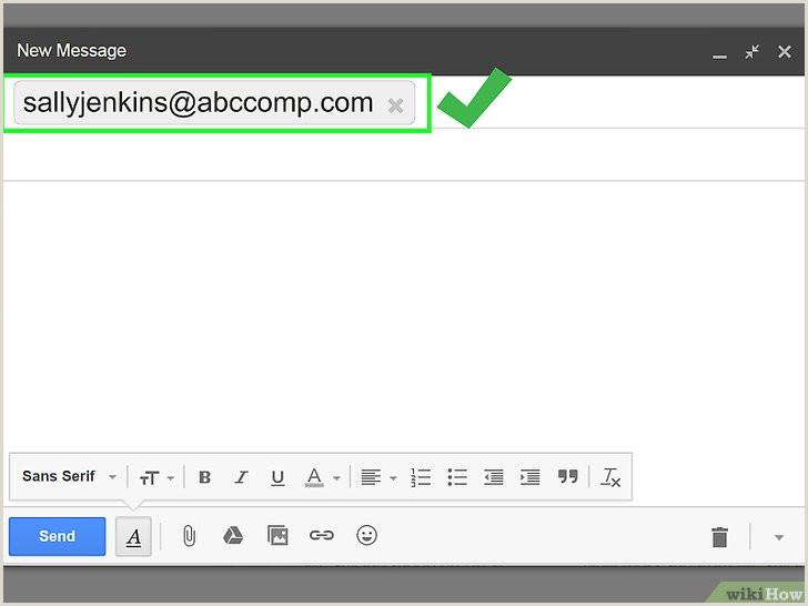 Montar Curriculo Simples O Enviar Um Currculo Por Email 16 Passos