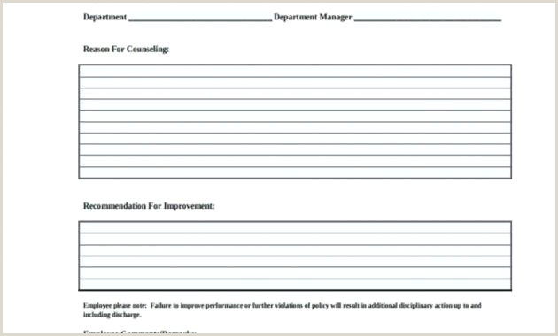 Monthly Counseling Example Developmental Counseling form Army Templates Statement 4856