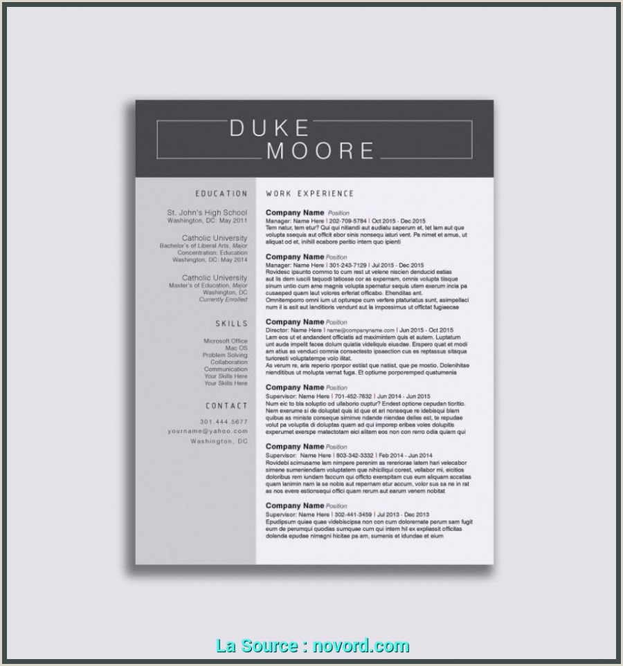 Moo Resume Templates Acceptable Lettre De Motivation Simple Word Lettre De