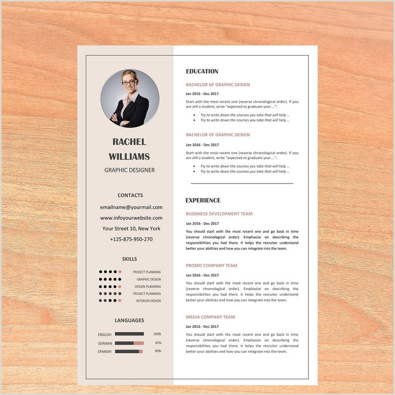 Resume template cv template professional resume modern resume creative resume cv design resume cv teacher resume resume word