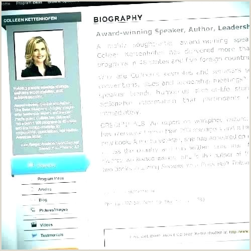 Website Bio Template Resume Bio Example Beautiful Biography