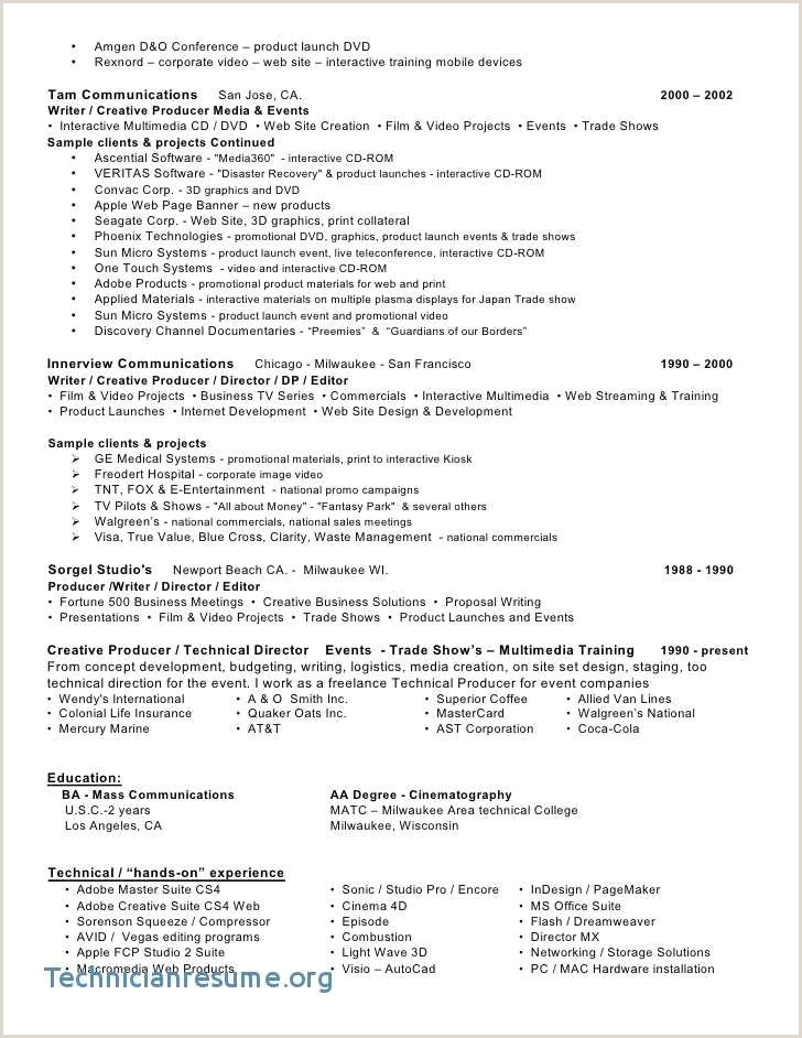 Awesome Movie theater Manager Resume Sample – Linuxgazette