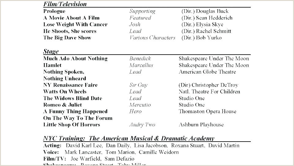 musical theatre resume template word – bighaus