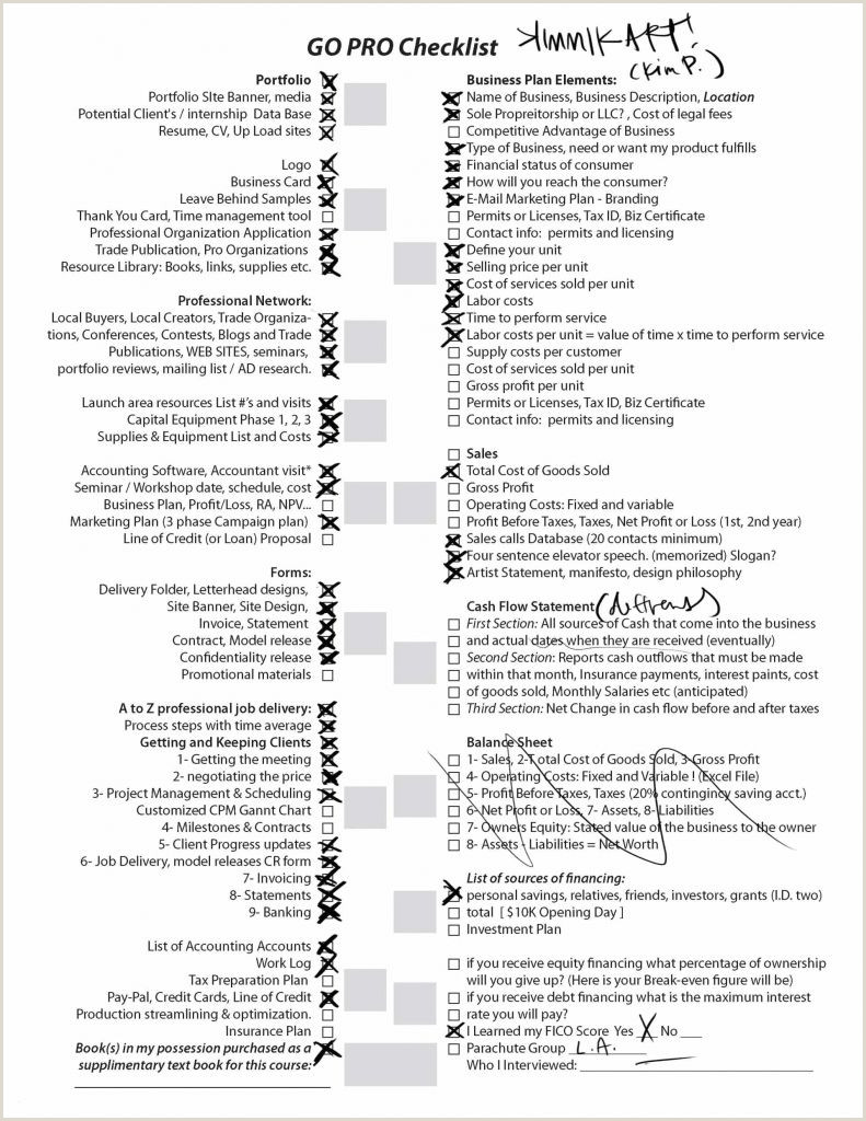 Ms Word Checklist Template 4 Phases D Un Projet Unique 90 In Word form which Word
