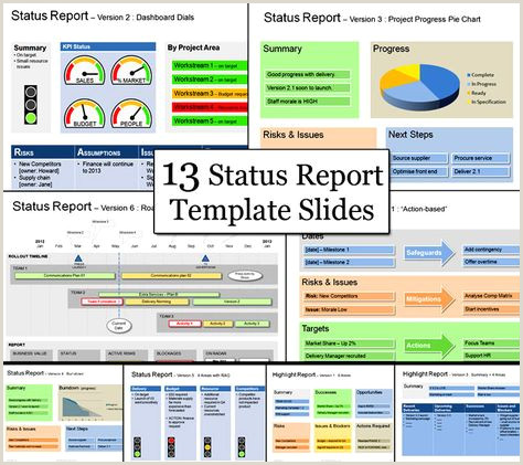 Are you looking for weekly project status report template