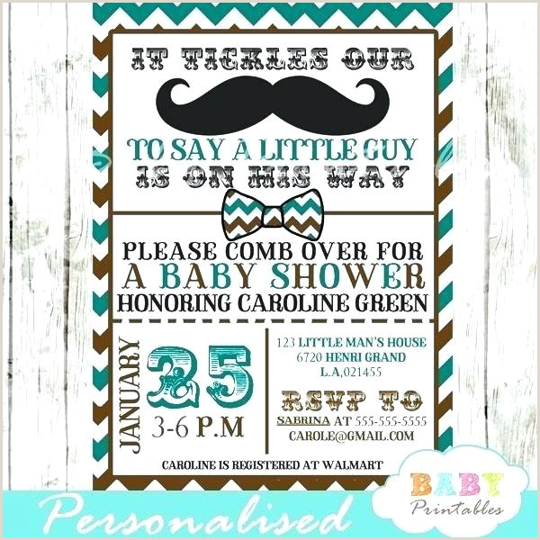 mustache baby shower invitations template – metabots