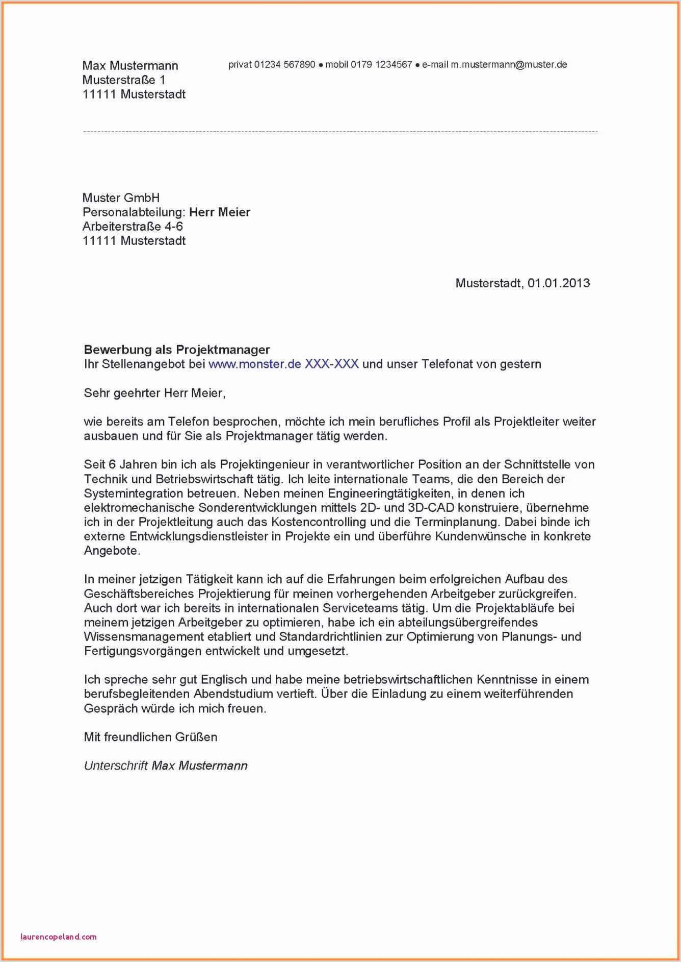 Muster Lebenslauf Geschaeftsfuehrer Bewerbung Geschaftsfuhrer Vorlage Cdn Schön
