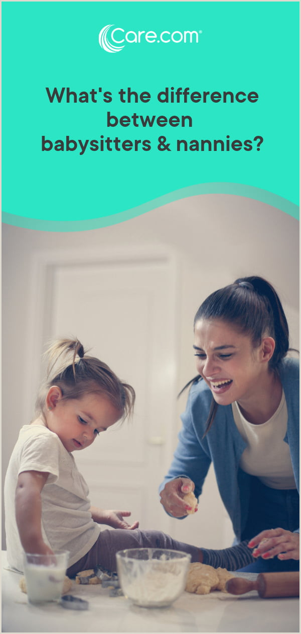 What s the difference between a babysitter and a nanny