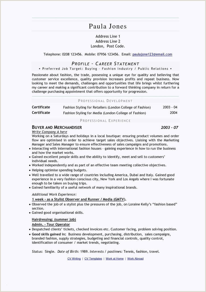 Site De Cv De Luxe Cv Versus Resume Awesome Nanny Resumes