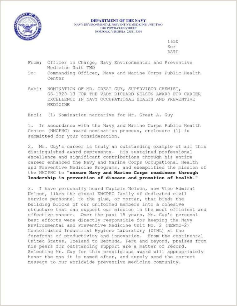 Standard Naval Letter format climatejourney