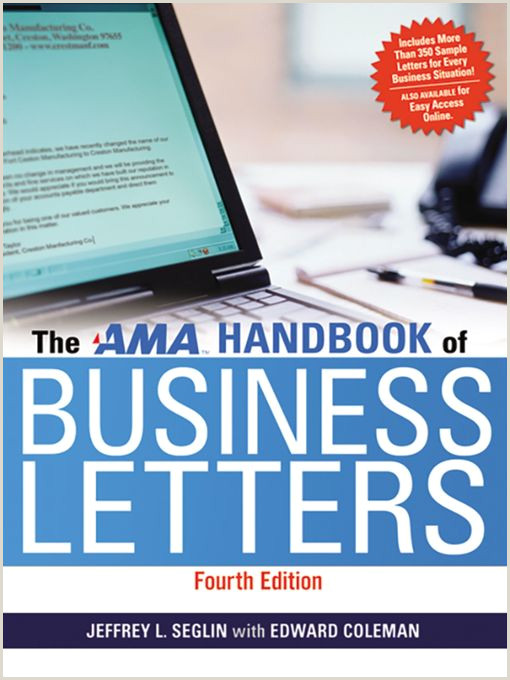 AMA Handbook of Business Letters Navy General Library