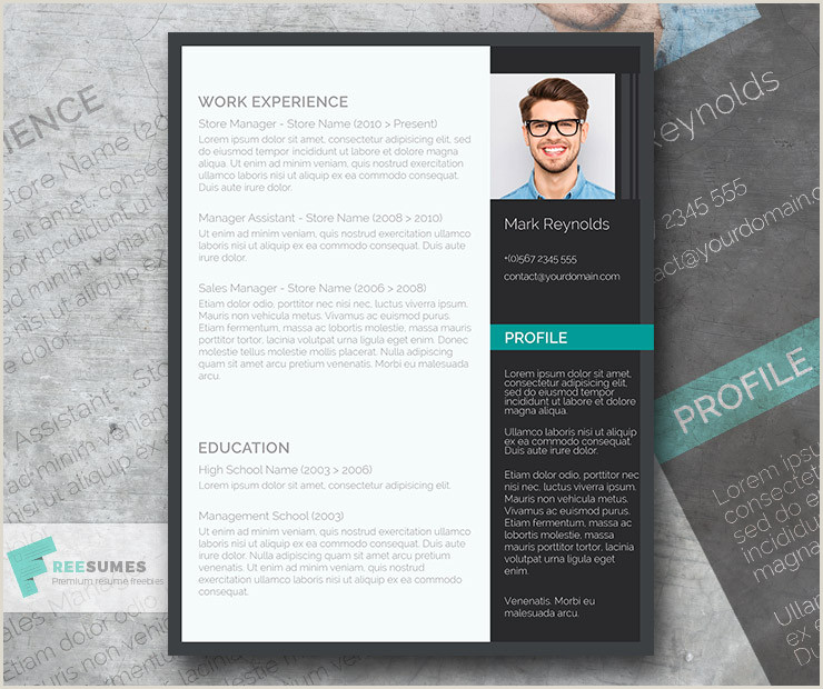 The Modern Professional – A Free Ultra Creative CV Template