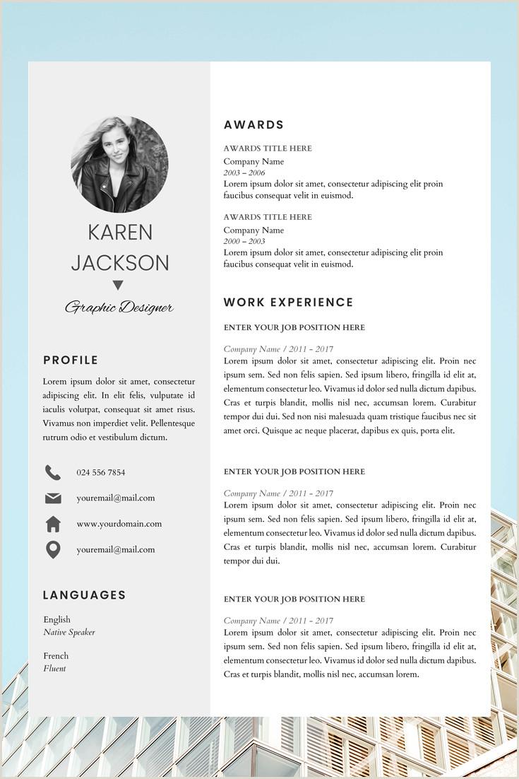 New Professional Cv format 2017 Resume Cv Template Cover Letter Karen Jackson