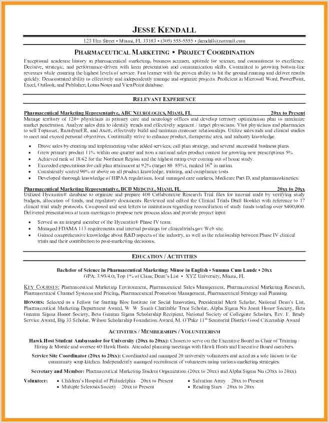 Physicians Resume Sample Sample Cv Relation Client Awesome