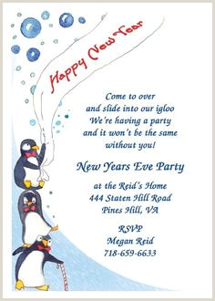 New Year Eve Invite Wording Ideas 31 Best New Years Party Invitations Images