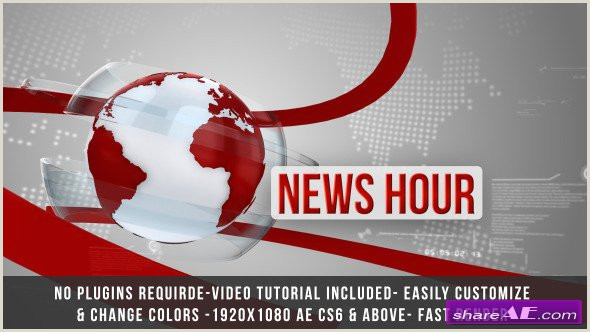 News Intro Template Free Tv Free after Effects Templates