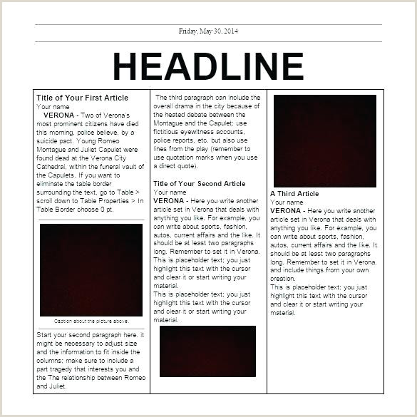newspaper template for powerpoint – digitalhustle