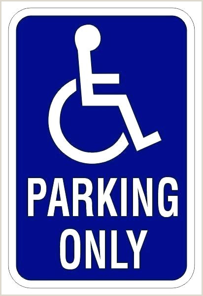 Parking Sign Template Word Reserved Free