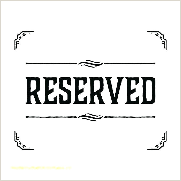 Reserved Parking Sign Template Free No Parking Sign Reserved