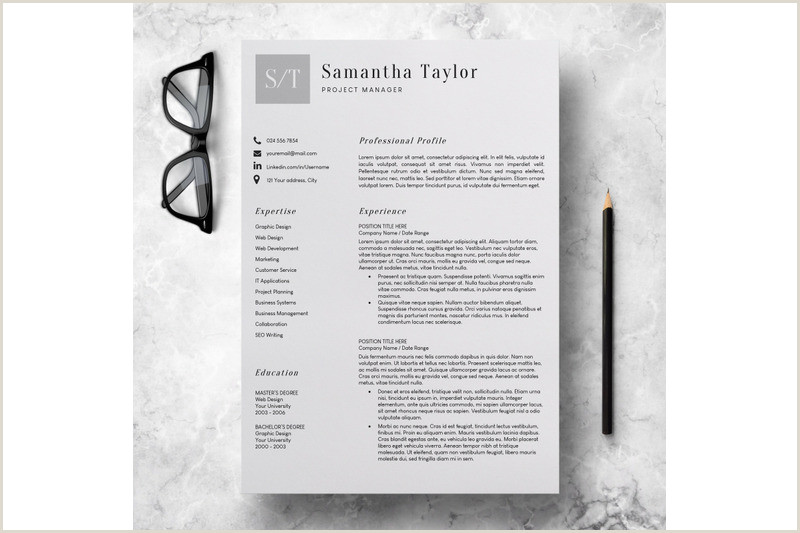 Basic CV Template Word Resume Template for Teachers