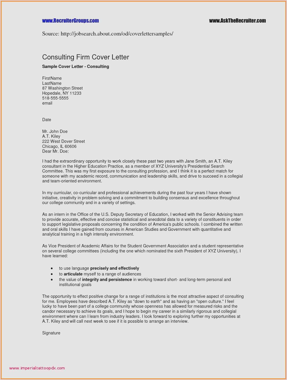 Non Profit Cover Letter Executive Director Resume Template Elegant Fresh Non
