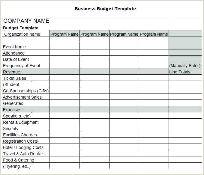 Nonprofit Budget Template Excel organization Bud Template Excel Nonprofit Free