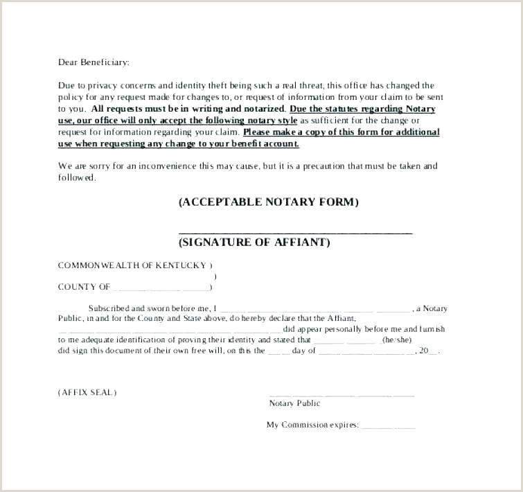 Notary Signature Template General Statement In Public New