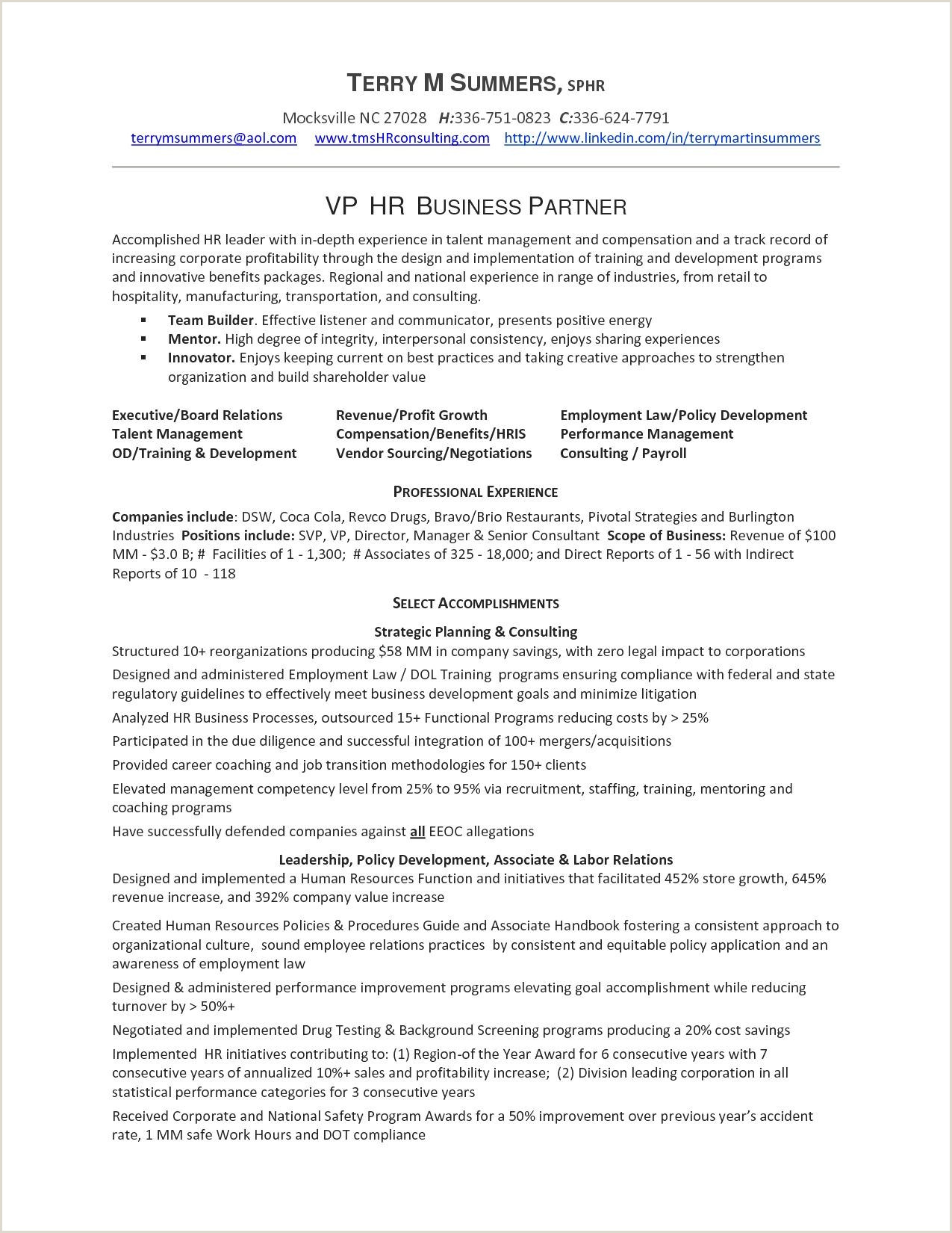 Sample Resume Sr Accountant New Objective For Resume
