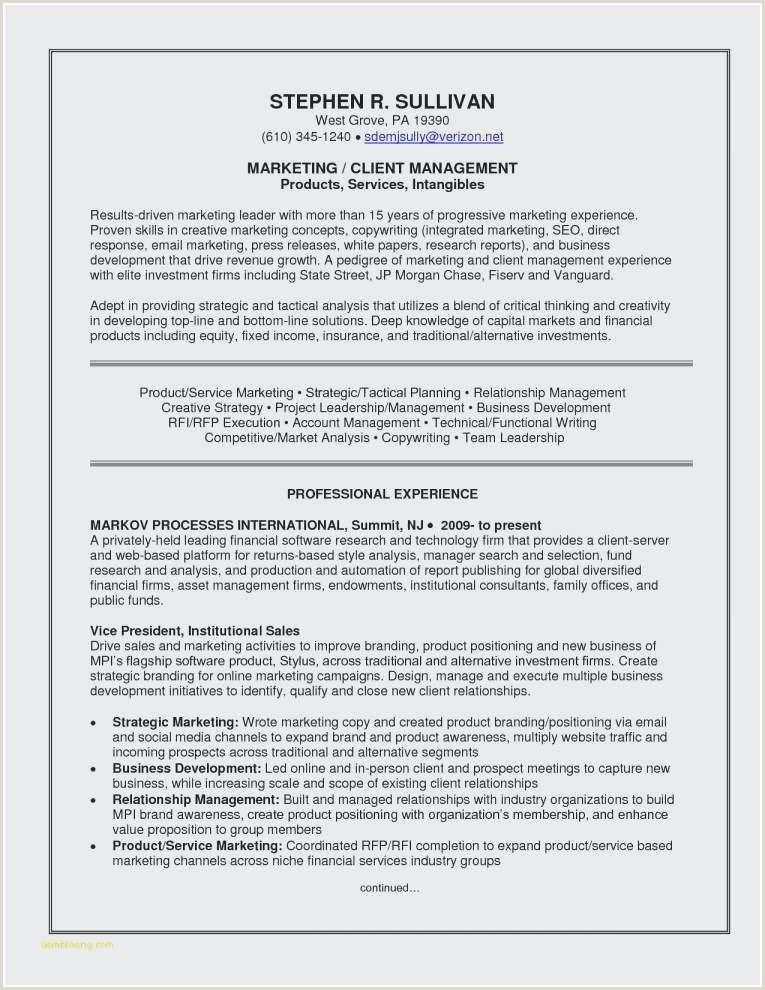 Objective for Marketing Resume Elegant Resume Objective for Marketing
