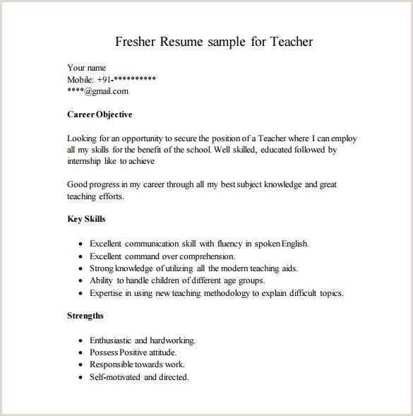 career objective for resume for fresher teacher