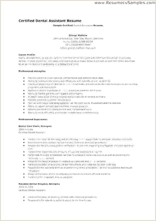 Dental Technician Lab Objective Examples Laboratory Resume