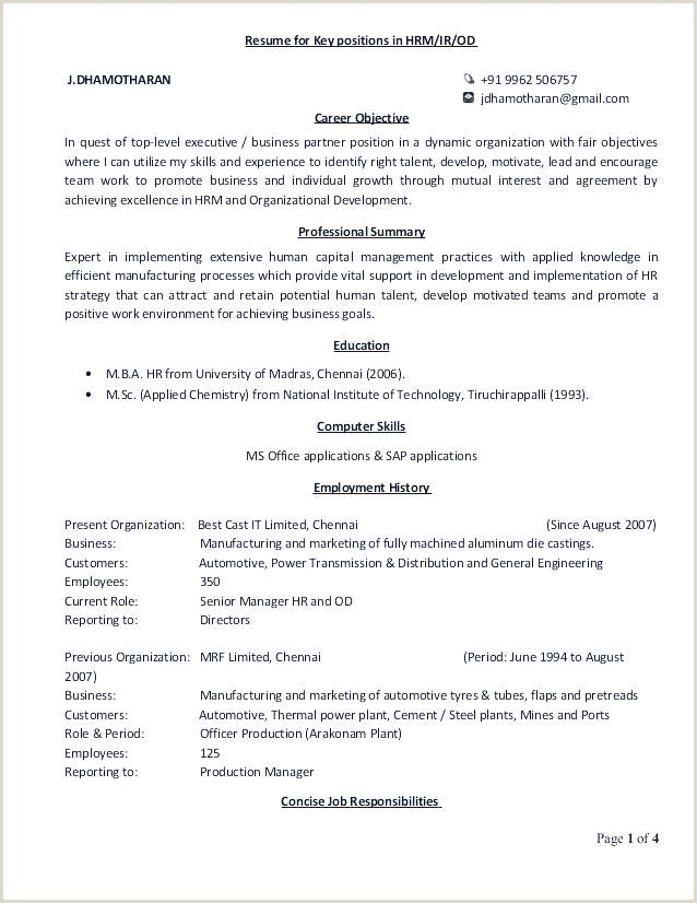 Objective for Resume for Freshers New Glamorous Simple