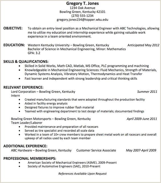 Objectives for Freshers Resume Objective for Mechanical Engineer Resume Sample