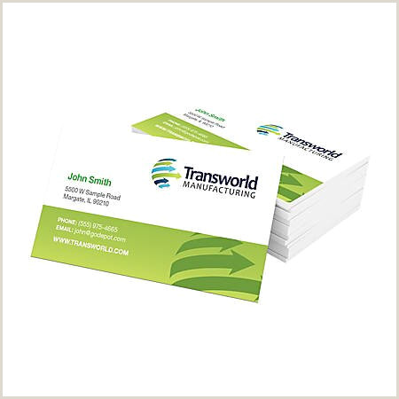 """Standard Business Cards 3 1 2"""" x 2"""" Pearl White Box 250 Item"""