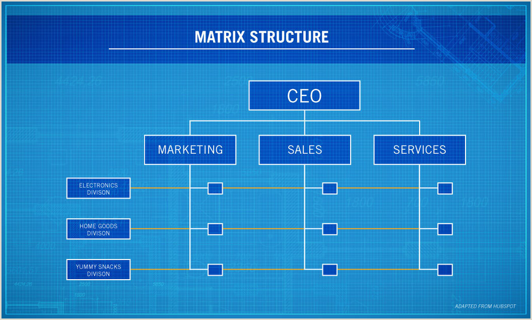 Organizational Chart Of Coca Cola Company 4 Types Of organizational Structures