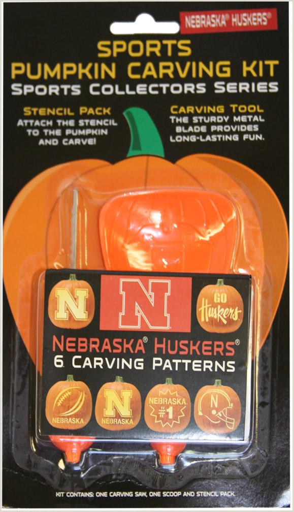 Ou Pumpkin Carving Templates Nebraska Pumpkin Carving Kit
