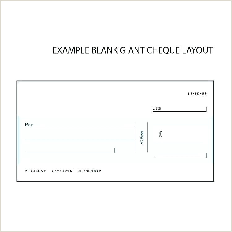 Oversized Cheque Template Free Blank Uk Pdf